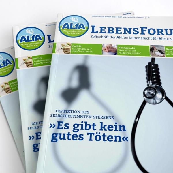 ALfA Publikationen LebensForum