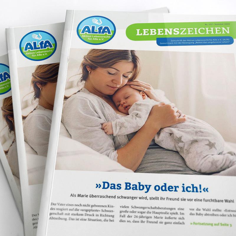 Magazin Lebenszeichen Ausgabe Sommer 2020