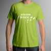 T-Shirt Ich Geh Für Dich Herren grün – ALfA e.V.