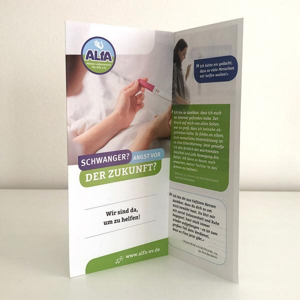 ALfA Flyer – Schwangerschaftsberatung