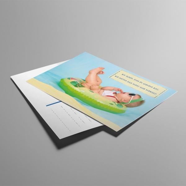 ALfA Postkarten – Wie schön, dass du geboren bist