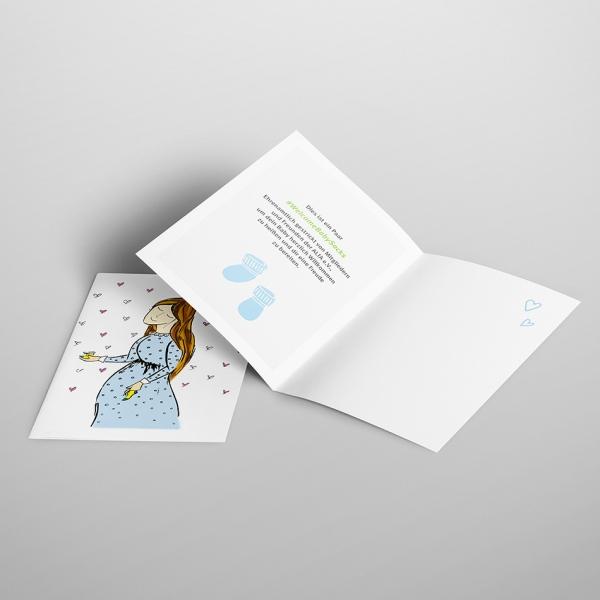 ALfA Postkarten – #WelcomeBabySocks