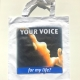 """ALfA Sonstiges – Tasche """"Your Voice for my Life"""""""