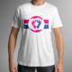 T-Shirt Studioaufnahme Pro Life Flagge Herren – ALfA e.V.